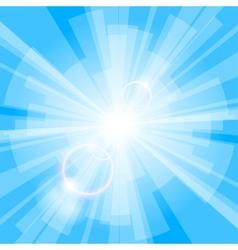 Blue light background vector