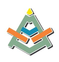 letter A original design vector image