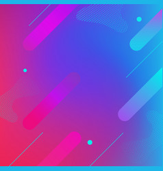 abstract blue geometric background eps10 vector image