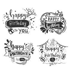 Celebrating birthdays online social distancing vector