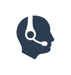 Customer care icon vector
