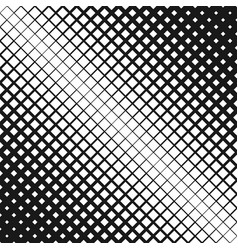 Geometric halftone square pattern background vector