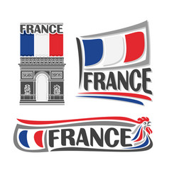 Logo for france vector