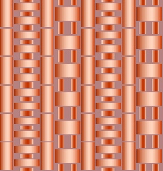 Seamless texture of pipes vector
