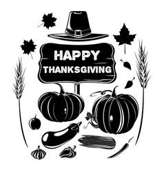Thanksgiving design harvest festival vector