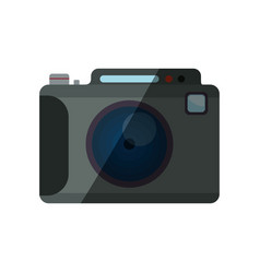 photographic camera shutter vector image vector image