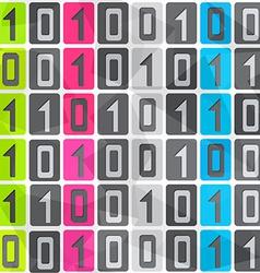 tech seamless pattern vector image
