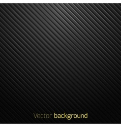 Abstract black striped background vector image vector image