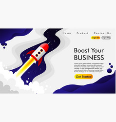 Abstract web design and landing page background vector