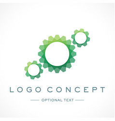 Biotechnology logo and text for designs vector