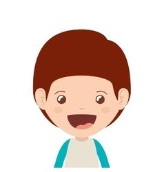 boy cartoon design vector image