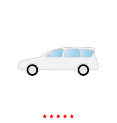 car it is icon vector image