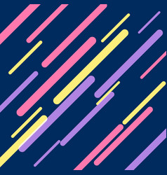 dark blue background with colorful diagonal vector image