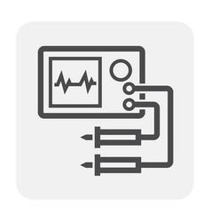 Electronics tool icon vector