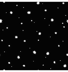 Seamless space background vector