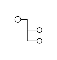 connection icon vector image