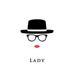 lady portrait vector image vector image