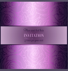 Abstract background with luxury vintage frame vector
