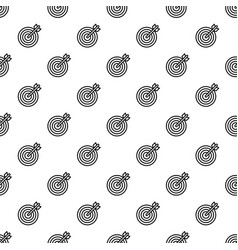 arrow target pattern seamless vector image