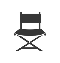 Chair director cinema vector