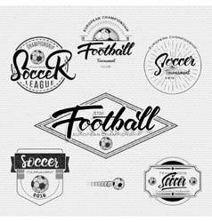 Football Soccer tournament championship league vector