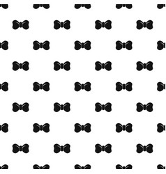 hipster bow tie pattern seamless vector image