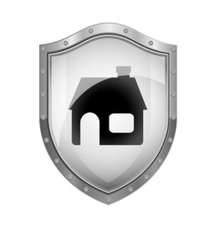 House insurance security vector