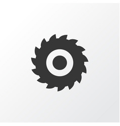 Milling cutter icon symbol premium quality vector