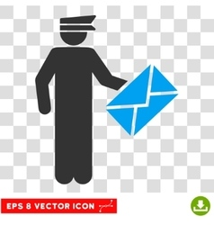 Postman Eps Icon vector image