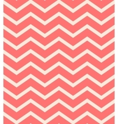 Red chevron seamless pattern background vector image