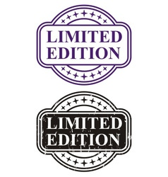 Stamp limited edition vector