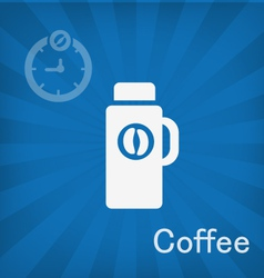 Coffee icons vector