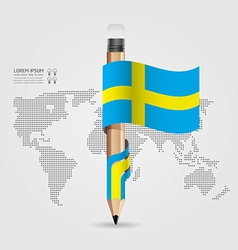 modern Design template flag style vector image