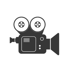 Videocamera icon Movie design graphic vector image vector image