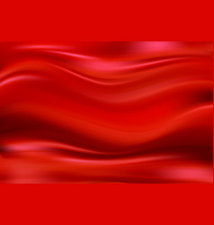 abstract background luxury red cloth or liquid vector image