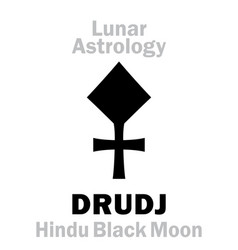 Astrology drudj vector