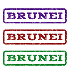 Brunei watermark stamp vector