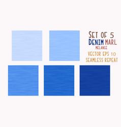 Classic blue light denim marl seamless vector