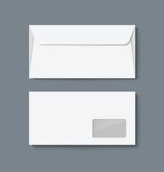 Envelope mock up vector image