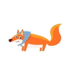 Fox Wearing Headscarf vector