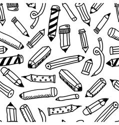 Pencils sketch collection vector image