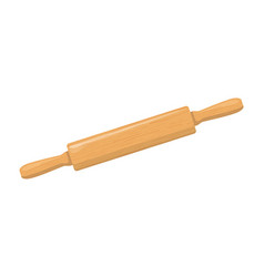 rolling pin icon vector image
