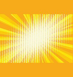 Spot light on the yellow retro background vector
