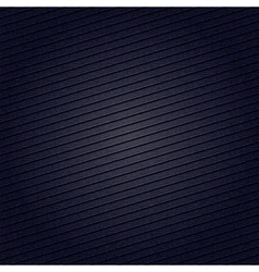 Striped fabric surface for dark blue background vector image