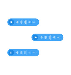 Voice messages icon event notification vector