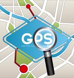 Gps concept vector