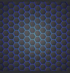 honeycombs abstract 3d hexagonal seamless backdrop vector image vector image