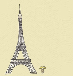 Paris1 vector image
