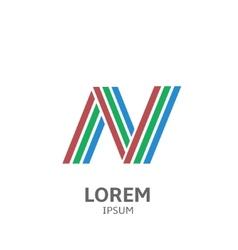 LOREM ipsum N vector image