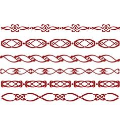 Slavic ornament vector image